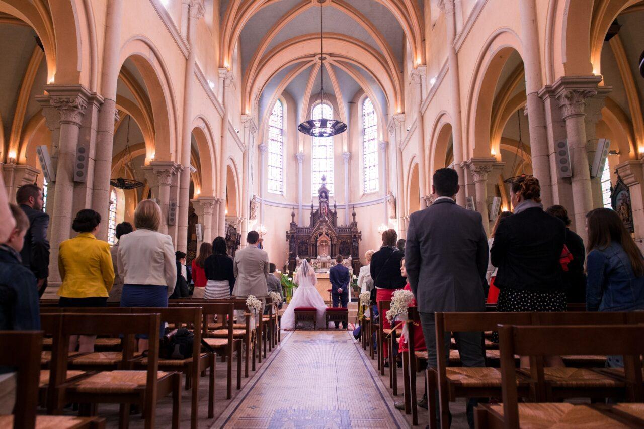 Mariage en église, cérémonie religieuse