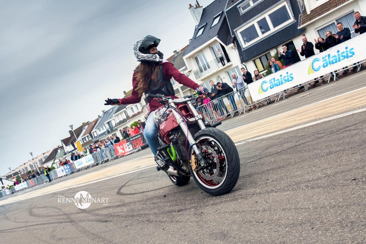 Reportage fête de la moto du Moto Club RedZone à calais